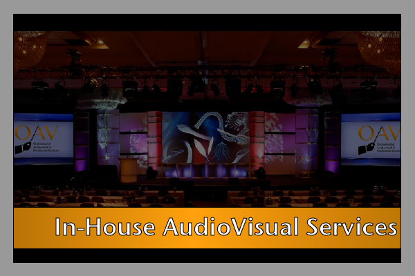 In-house A/V Services