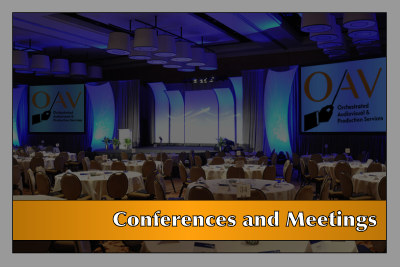 OAV Services - Conferences & Meetings