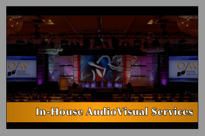 Service - In-House A/V Services